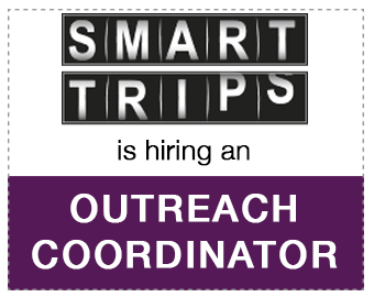 SmartTrips is hiring an outreach coordinator